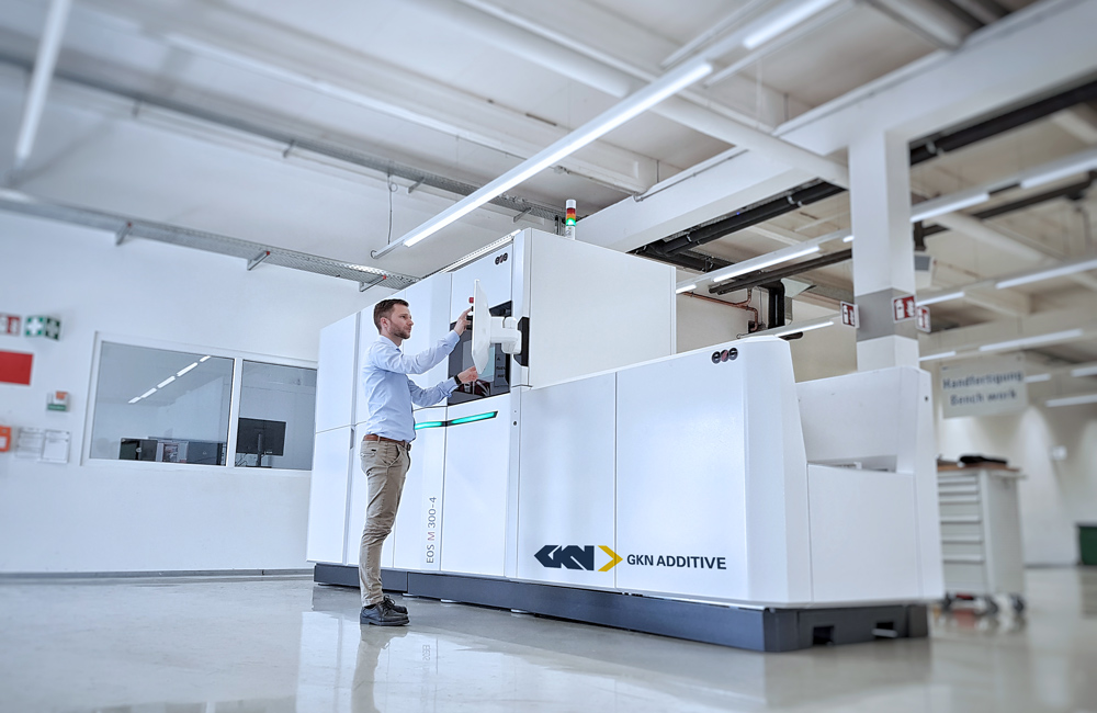 GKN Powder Metallurgy is currently validating a recently acquired EOS M300-4 quad-laser system, testing out multi-laser exposure strategies and pushing the system's productivity.