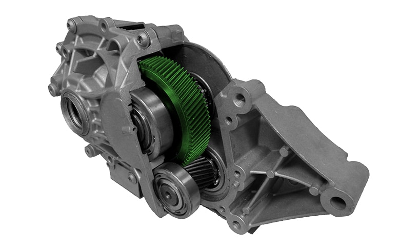 NVH improved eDrive gears