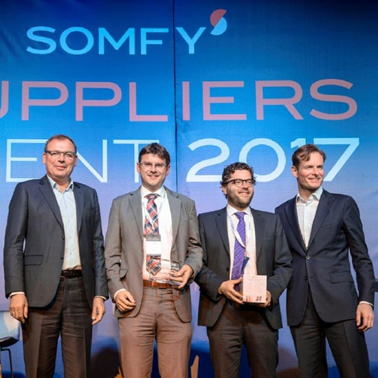GKN Sinter Metals recognised by Somfy as 'Best Supplier'